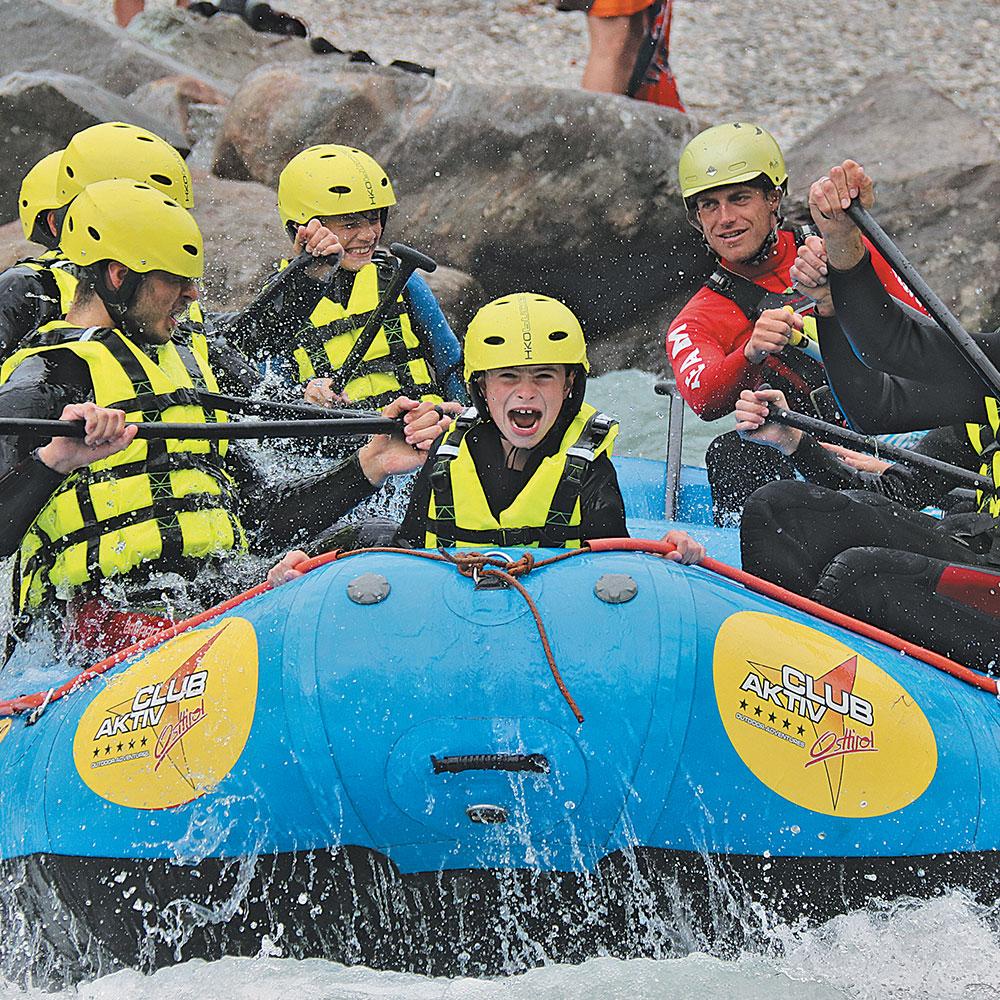 Rafting Lienz Osttirol